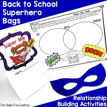 Back to School Activities ~ Superhero Themed