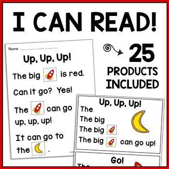 Very First Sight Word Sentences, Alphabet Sentences & Reading Comp. Games