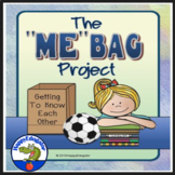 Beginning of the Year Me Bag Activity