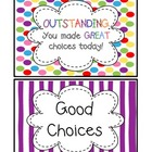Behavior Board and Classroom Rules