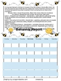 Behavior Calendars Bees