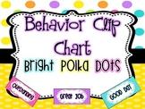 Behavior Clip Chart {Bright Polka Dots}