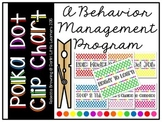 Behavior Clip Chart...Polka Dot Theme