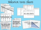 Behavior Data Collection for ABA, Autism, or Special Educa
