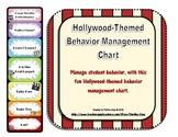 Behavior Management Chart: Hollywood Theme