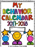 Behavior Clip Chart & Calendars