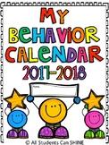 Behavior Clip Chart & Calendars