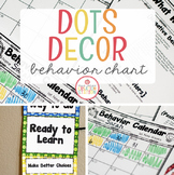 Editable Behavior Plan {Dots Classroom Set}