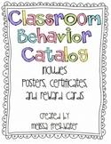 Behavior Reward Catalog Posters, Certificates, and More Galore
