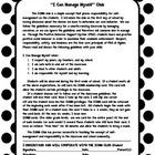 Behavior/Classroom Management- ICMM Credit Cards