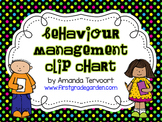 Behaviour Management Clip Chart {with Monthly Calendars}