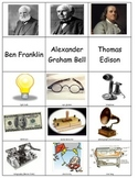 Ben Franklin Thomas Edison Alexander Graham Bell Sort inve