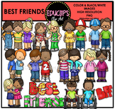 Best Friends Clip Art Bundle