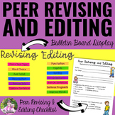 Best Peer Revising And Editing Mini-Lesson & Checklist