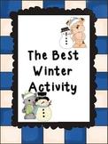 Best Winter Activity Writing Set (Argument Essay Writing)