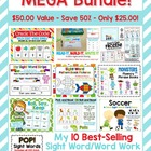 Best of the Best Sight Word MEGA Bundle! Top Selling Sight