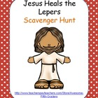 Bible Story Scavenger Hunt - Jesus Heals the Lepers