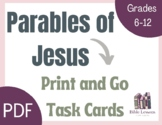 Bible Task Cards: Parables of Jesus
