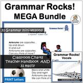 Grammar   Grammar Songs   Grammar Rocks!   Mega BUNDLE   P