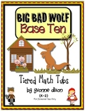 Big Bad Wolf Base Ten Tiered Math Tub