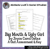 Big Mouth & Ugly Girl Unit Test by Joyce Carol Oates  Lang