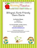 Bilingual Earth-Friendly Chore Charts