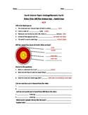 Bill Nye Science Guy Movie - Earth Crust Video Worksheet &