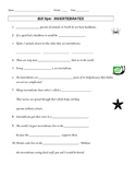 Bill Nye Invertebrates Video Guide Sheet