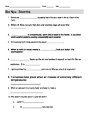 Bill Nye Storms Video Guide Worksheet