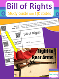 Bill of Rights Amendments Foldable with QR Codes {Links to