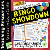 Bingo Showdown Game for Task Cards