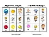 Bingo With Adjectives