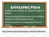 Biographic Poem