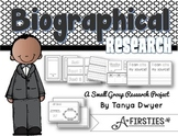 Biographical Research {Fold & Learn}
