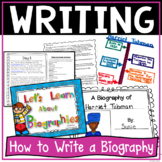 Biography - Let's Learn About Biographies {Informational Text}