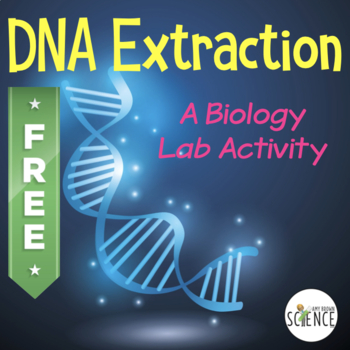 Biology Lab: Simple DNA (deoxyribonucleic acid) Extraction