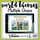 Biome Characteristics 35 Multiple Choice PPT Smart board file