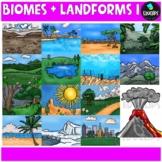 Biomes And Landforms Clip Art Bundle