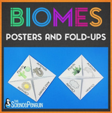 Biomes Posters and Foldable Pages