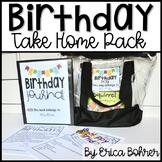 Birthday Take Home Pack