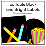 Editable Labels (Black)