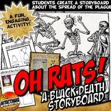 Black Death Bubonic Plague Story Board Activity Medieval E