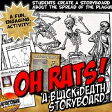Black Death Bubonic Plague Story Board Activity Medieval E