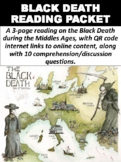 Black Death Reading & Question Packet