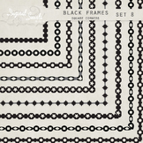 Black Frames 8 - Square Corners