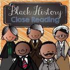 Black History - Close Reading