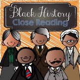 Black History - Close Reading