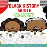 Black History Month:  Historical Figures Reading Passages