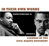 """Black History Month Unit: """"In Their Own Words"""" - Civil Rig"""