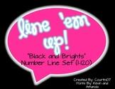 """""""Black and Brights"""" Line 'em Up!"""